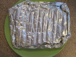 Aluminum Foil used for Grilling fish