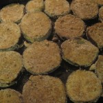 Breaded and Baked Eggplant
