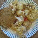 Salmon Pattie with Roasted Cauliflower