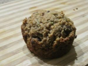 Zuchinni muffins GF