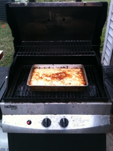 Zucchini Crusted Quiche