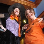 Karin and Jenny halloween