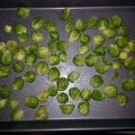 Brussel Sprouts ready for roasting