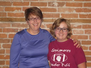 Anne has been training with us since 2008! Grace Joined her in beginning in 2010.